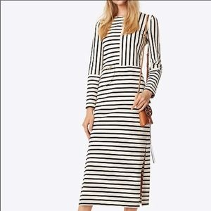Tory Burch Striped Cotton Dress